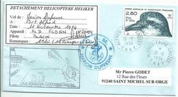 YT 189 - Prion De Salvin - Alfred Faure - Crozet - Détachement Hélicoptère Air Réunion - Terres Australes Et Antarctiques Françaises (TAAF)