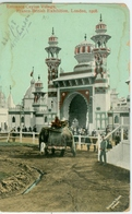 London 1908; Franco-British Exhibition. Entrance Ceylon Village (elephant) - Circulated. (Valentine's Series) - London