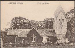 Sompting Church, Near Worthing, Sussex, 1911 - Walter Bros Postcard - England