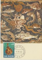 Saint Marin Carte Maximum 1966 Raie 682 - Lettres & Documents