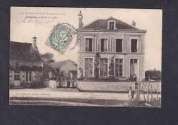 Vente Immediate Env. De Saint Sauveur - Fontenoy (89) Ecole Des Filles ( Animée Ed. Blin Et Mouchon) - Autres Communes