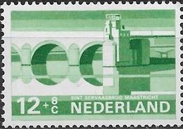 NETHERLANDS 1974 Cultural, Health And Social Welfare Funds, Dutch Bridges - 12c.+8c St. Servatius' Bridge, Maastrich MNH - Period 1949-1980 (Juliana)