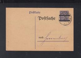 Dt. Reich Postsache 1924 Stuttgart - Deutschland
