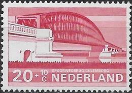 NETHERLANDS 1974 Cultural, Health And Social Welfare Funds, Dutch Bridges - 20c.+10c Railway, Culemborg MNH - Period 1949-1980 (Juliana)