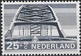 NETHERLANDS 1974 Cultural, Health And Social Welfare Funds, Dutch Bridges - 25c.+10c Van Brienenoord, Rotterdam MNH - Period 1949-1980 (Juliana)