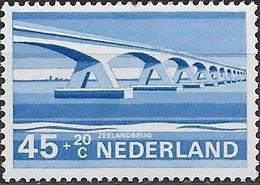 NETHERLANDS 1974 Cultural, Health And Social Welfare Funds, Dutch Bridges - 45c.+20c  Oosterschelde, Zeeland MNH - Period 1949-1980 (Juliana)