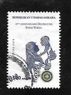 TIMBRE OBLITERE DE MADAGASCAR DE 2018 - Madagascar (1960-...)
