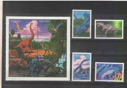 1997 Grenada Dinosaurs MNH - Preistorici