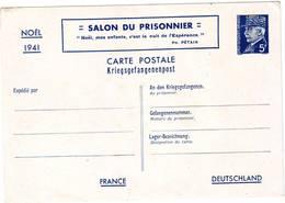 149  H Salon Du Prisonnier Avec Pétain 5F  Carte Bon état - Entiers Postaux