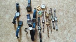 Lot De Montre Femme Et Homme 16 Montres - Watches: Jewels