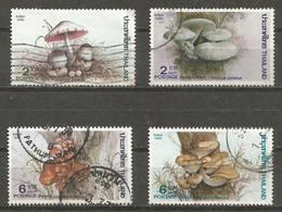 Thailand - 1986 Edible Fungii Used   Sc 1161-4 - Thailand