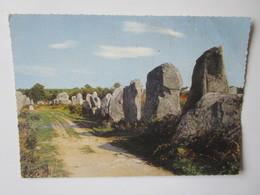 La Bretagne. Les Menhirs (Morbihan). Jean 20.531 - Dolmen & Menhirs