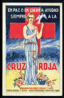 ESPAGNE - Carte Croix-Rouge De BARCELOGNE Censurée - République - Pour La France - Ambulance. Rare - Croix-Rouge