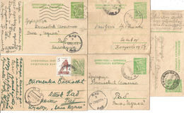 Q1-Lot 5 Psc.Postcard / Postal Stationery Card,Sombor,Rab,Yugoslavia - Entiers Postaux