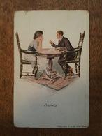Illustrateur - Prophecy - Cartomancien - Tireur De Carte - Voyant - 1900-1949