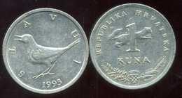 CROATIE 1 Kuna 1993 - Croatie