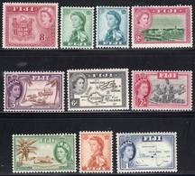 Fiji  1954 1.2d, 2d & 3d - Unmounted Mint/Mint Previously Hinged - Fiji (...-1970)
