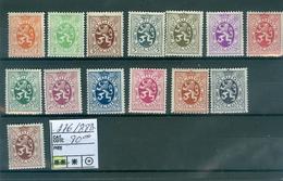 276-288A   Xx  Cob 80.00€ - Belgium