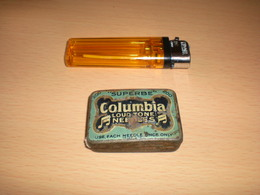 Superbe Columbia Loud Tone Nebdles Old Box Tin - Boîtes/Coffrets