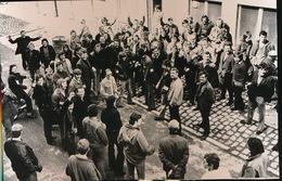 GENT   1973 FOTO 15 X 9 CM -  UITKERING DOKWERKERS - Sint-Martens-Latem