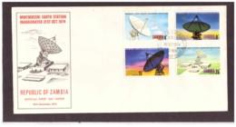 94  -    ZAMBIA  /   FDC  Y&T. Nr.  126/132 - Astronomia