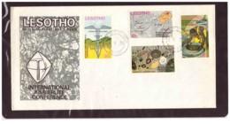 97  -    LESOTHO     /   FDC  Y&T. Nr.   249/252 - Minerali