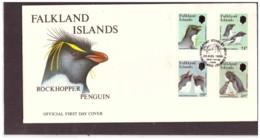107      -     FALKLANDS ISL.      /   FDC  Y&T. Nr.    465/468 - Penguins