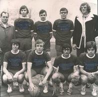 WAREGEM   1973 FOTO 10 X 10 CM -  KADETTENPLOEG VAN KA WAREGEM BEHAALDEN KAMPIOENEN TITEL - Waregem
