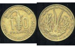 ETATS DE L'AFRIQUE DE L'OUEST 10 Francs 1976 ( Bis ) - Monnaies