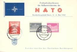 Frühjahrskonferenz Des Außenminister..der Nato 1957 - BRD