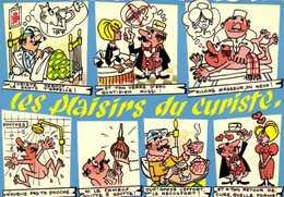 Illustrateur Les Plaisirs Du CURISTE   Multivues RV - Humour