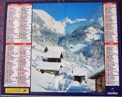 Calendrier LA POSTE 1998 - Eure Et Loir - Big : 1991-00