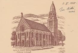 METZERAL - Eglise Du Souvenir Alsacien - France