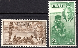 Fiji 1951 Health Set - Unmounted Mint - Fiji (...-1970)