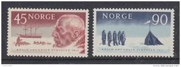 Norway 1961 Roald Amundsen / South Pole Explorer 2v ** Mnh (41432) - Noorwegen