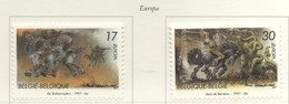 PIA - BELGIO  - 1997 : Europa  - (Yv  2694-95) - Belgio