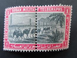 1898 Soudan Sg:SD T7 - 710 - Sudan Military Telegraphs - Neuf Très Légère Adhérance - Neufs