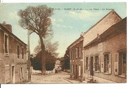 77 - FLAGY / LA PLACE - LE PEUPLIER (ARBRE) - Autres Communes