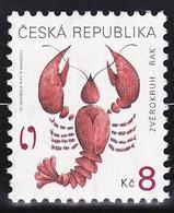 Timbre-poste Gommé Neuf** - Signe Du Zodiaque Cancer - N° 224 (Yvert) - République Tchèque 1999 - Tchéquie
