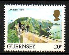 GUERNESEY. N°296 De 1984. La Coupée à Sark. - Guernesey