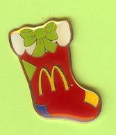 Pin's Mac Do McDonald's Bas De Noël - 6BB22 - McDonald's