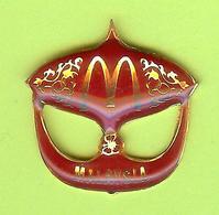 Pin's Mac Do McDonald's Malaysia Masque - 6BB27 - McDonald's