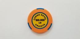 Casino Royal Craiova Romania 100000 Lei Casino Chip Jeton - Casino
