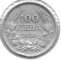 *bulgaria 100 Leva 1930 Km 43    Vf - Bulgarie