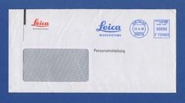Umschlag AFS - WETZLAR, Leica Microsystemes 2006 - Machine Stamps (ATM)