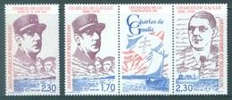 ST PIERRE MIQUELON - MNH/** . - 1990 -  DE GAULE - Yv 521 532A -  Lot 18435 - St.Pierre & Miquelon