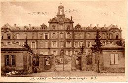 54. Nancy. Institution Des Jeunes Aveugles - Nancy