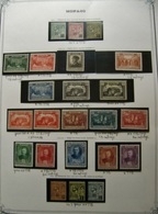COLLECTION MONACO ANNEES 1922 / 1940 NEUFS */ ** TTB/SUP. COTE TRES IMPORTANTE - Monaco