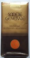 Paquet De Cigarette De La Banque SOCIÉTÉ GÉNÉRALE ROYALE Plein Pour Collection Scellé Non Ouvert Logo De 1969 - Around Cigarettes