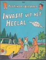 Piet Pienter En Bert Bibber 24: Invasie Uit Het Heelal (Pom) (De Vlijt 1975) - Piet Pienter En Bert Bibber